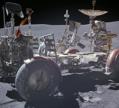 Scientists and engineers would like to obtain updated photos of the Apollo 15 rover to see how it has weathered after nearly 40 years on the lunar surface.