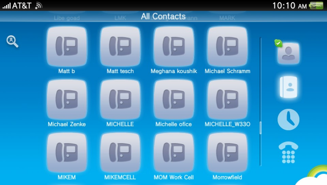 Importing contacts from a Google Account is a snap with SynqIt, but the Vita appcan't seem to handle more than 150 at a time.
