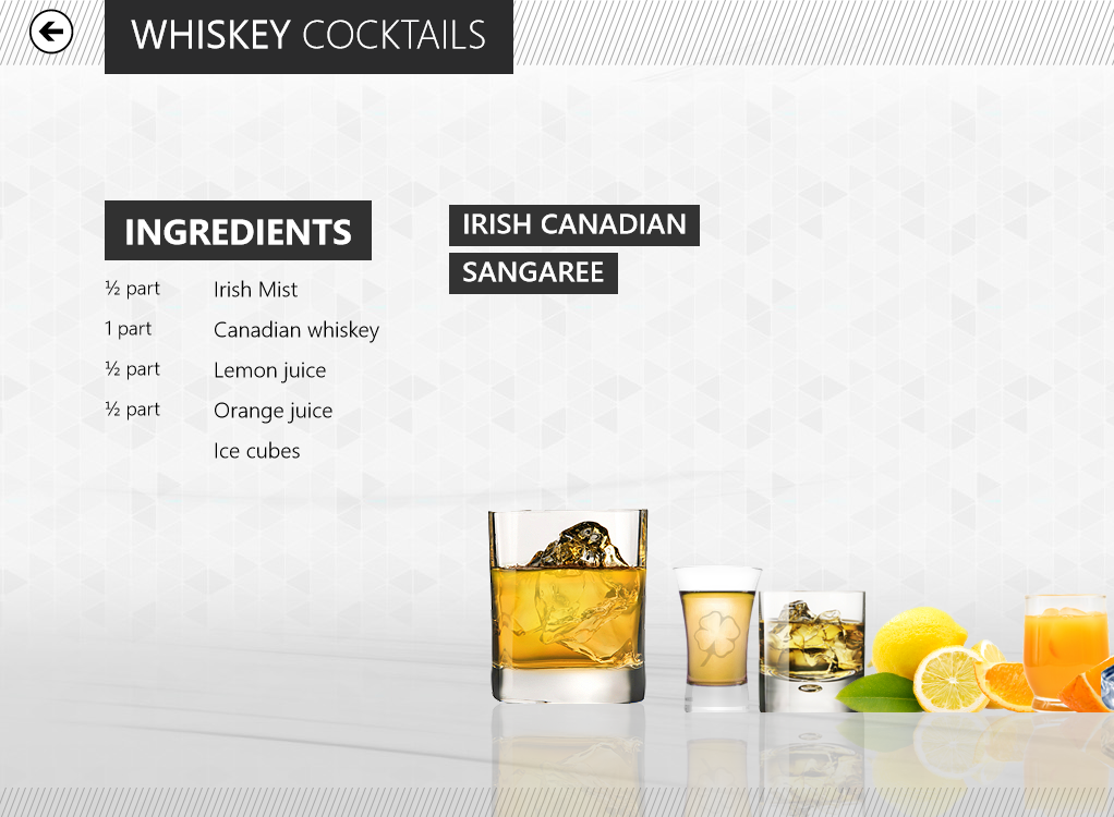 Just in time for your Windows 8 Launch Party, Cocktail Flow will teach you how to mix your own drinks.