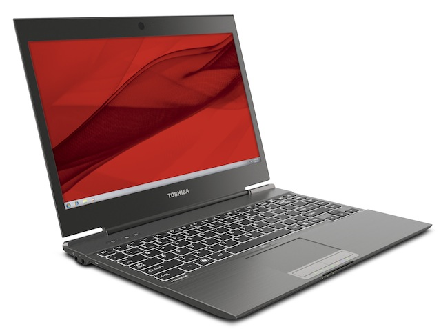 The Toshiba Portege Z935, which looks almost identical to the Z835