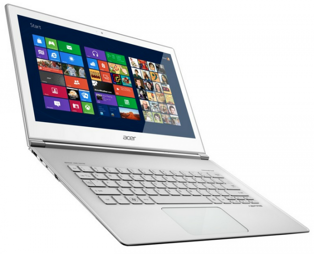 Acer's Aspire S7 looks like a standard Ultrabook, but adds a touchscreen for good measure.