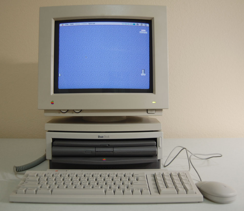 The Apple PowerBook Duo 280 and Duo Dock