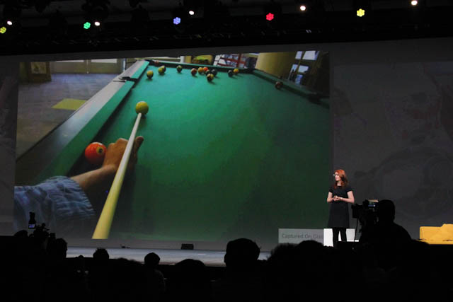 Share your mad billiards skills in real time with Google Glasses.