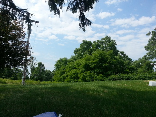An outdoor shot with the Galaxy S III