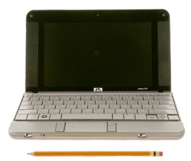 The HP Mini-Note 2133. What is that trackpad?