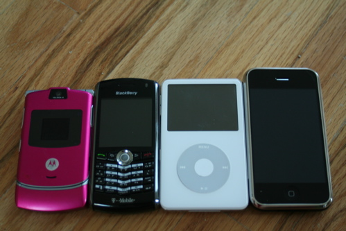 What was available to us at the time when we reviewed the original iPhone in 2007.