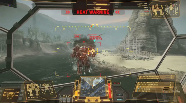 Piranha Games' <em>MechWarrior Online</em> uses CryEngine 3 to create some fine-looking giant walking robots.
