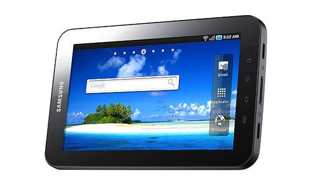 The original Samsung Galaxy Tab