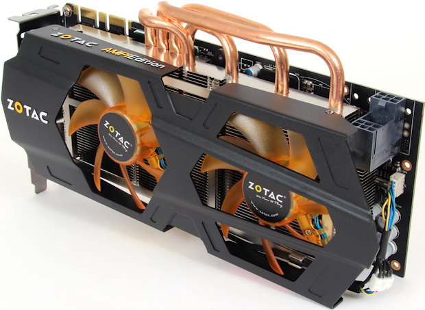 Yep, this is a different card: Zotac's GTX 670 AMP!