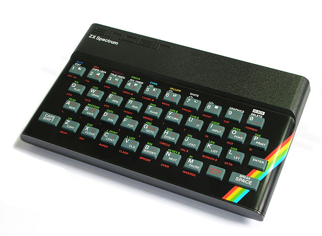 The Sinclair Spectrum was the UK's equivalent of the Commodore 64.