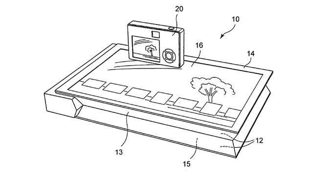 sony patent details surface