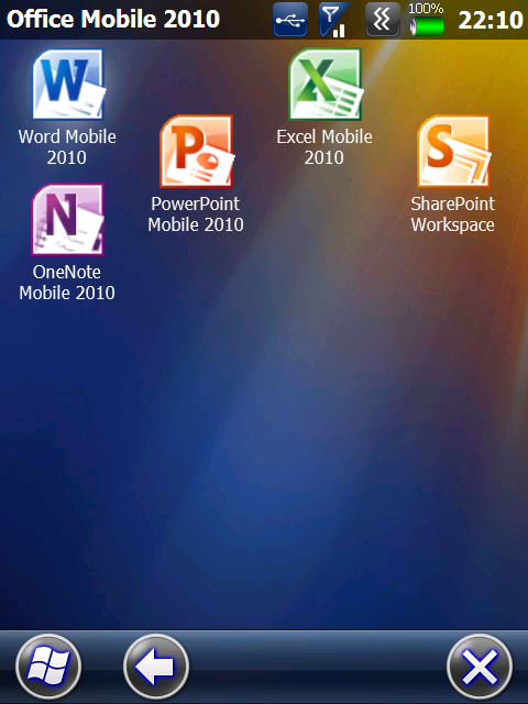 First look: Office Mobile 2010 for Windows Mobile 6.x ...
