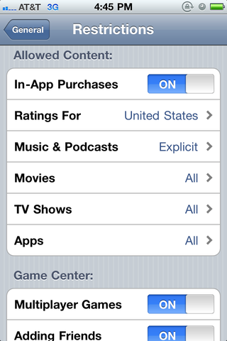 In-app purchases can be turned off altogether in the iOS device settings.