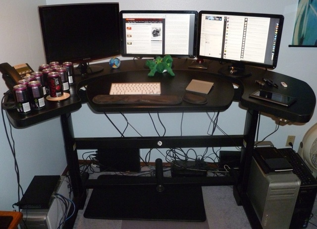 Taking A Stand My Experience Working At An Elevating Desk
