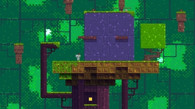 Review Fez S World Spinning Puzzles Drive Us To