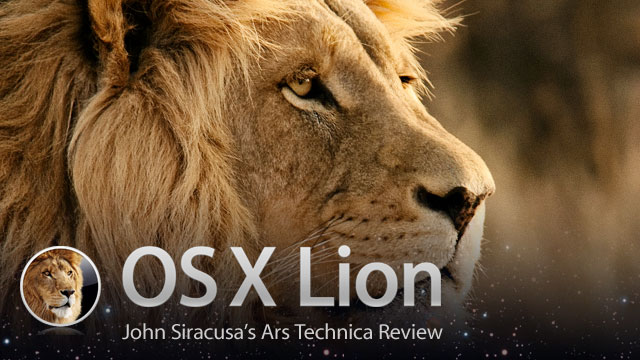 mac os x 107 lion the ars technica review ars technica