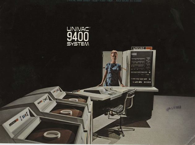 Welcome to the Moon: a UNIVAC 9400