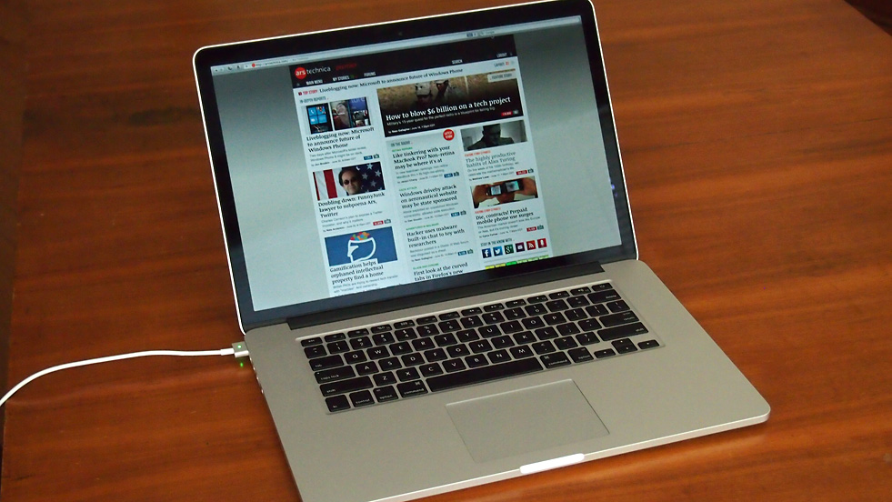"Pixelpalooza: 15"" Retina MacBook Pro reviewed 