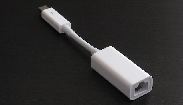 Hands On Apple S Thunderbolt Gigabit Ethernet Adapter