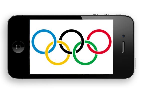 olympics iphone