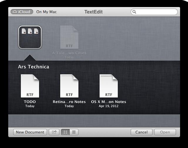 "iCloud ""folders."" Look familiar?"