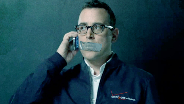 Verizon-taped