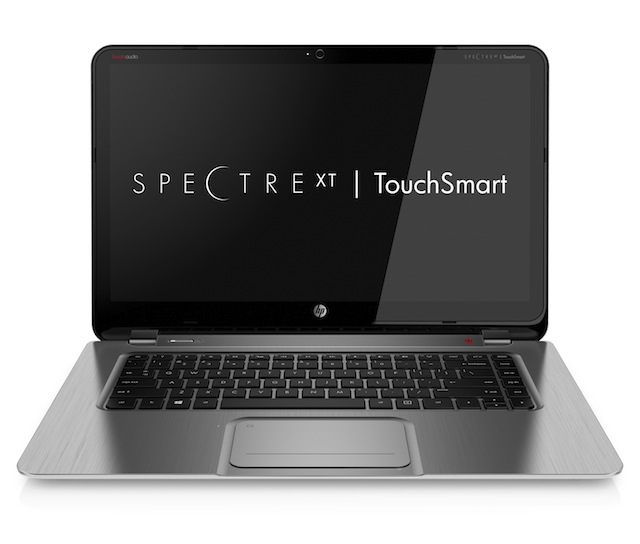 The 15-inch Envy Spectre XT, optimized for the touch components of Windows 8.
