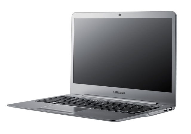 Samsung's Series 5 Ultrabooks measure 314.96mm x 218.44mm x 16.76mm and weigh 1.74kg, or 3.83 pounds.