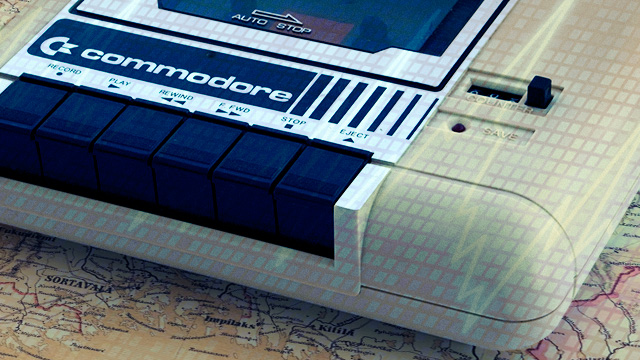 Commodore-cassette-radio