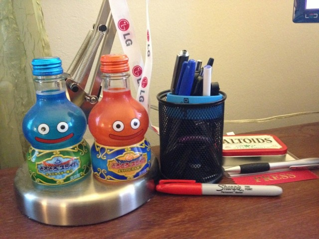 A picture of some of the junk on my desk taken with the iPhone 4S.