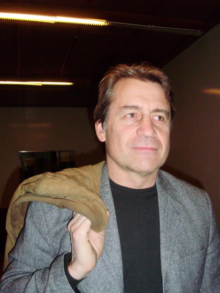 Carl Lundström, the crispy bread millionaire who is now broke.