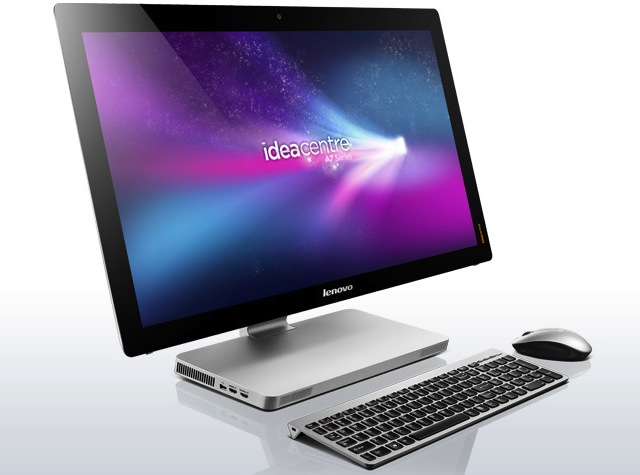 Lenovo's IdeaCentre A720 is a reasonably attractive, if pricey, all-in-one.