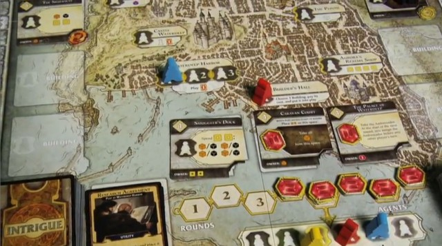 Want a more board-gamey feeling to your D&D Next experience? Try Lords of Waterdeep.