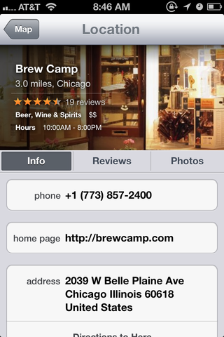 Need some home beer brewing supplies in Chicago? Maps has robust business listings that can tell you everything you want to know about BrewCamp.
