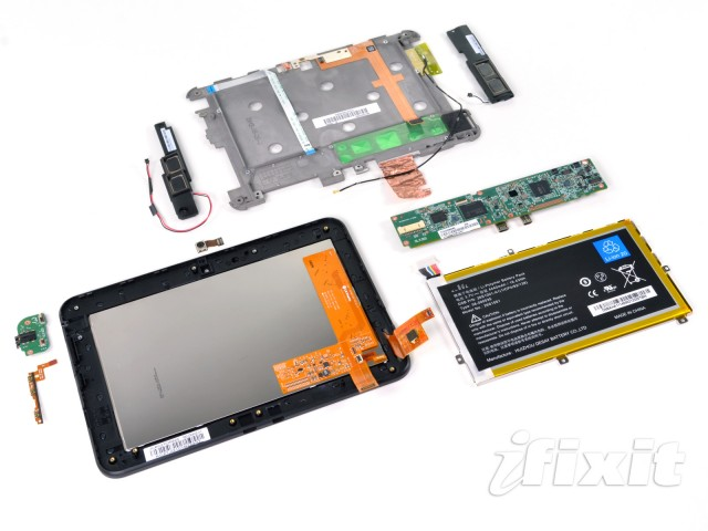 The Kindle Fire HD laid bare