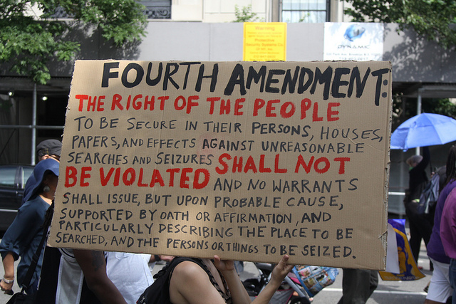 4th amendment rights 2018-8-24  the fourth amendment to the us constitution places limits on the  these limits are the bedrock of search-and-seizure  know your rights, survive the.
