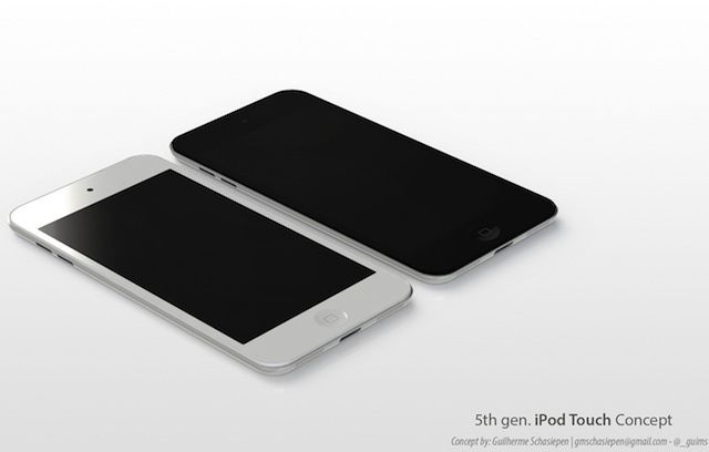 A concept of the possible next-generation iPod touch by designer Guilherme Schasiepen.