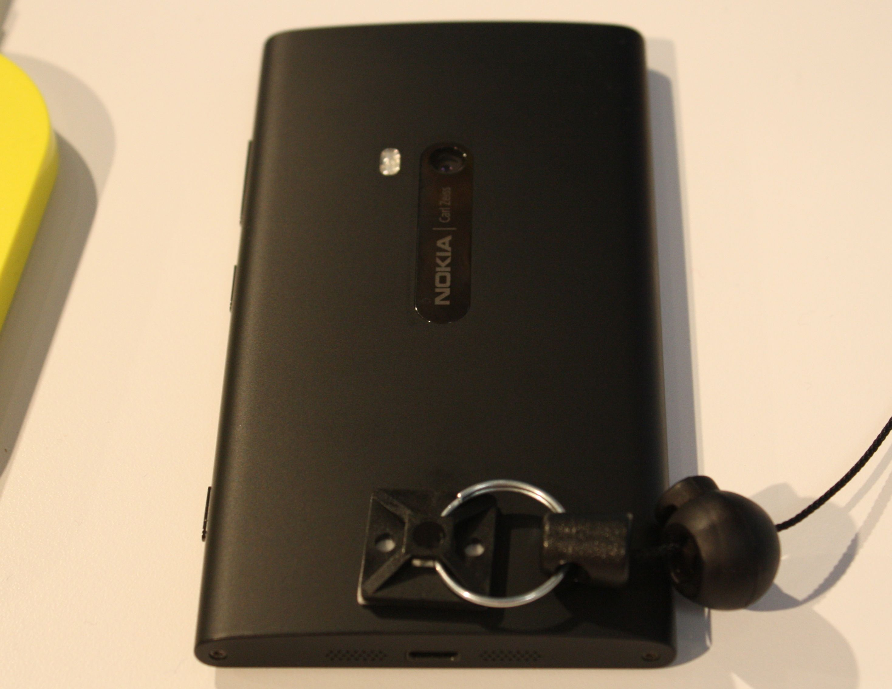 The black matte finish Lumia 920