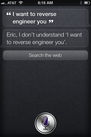 how to ask siri a question without talking