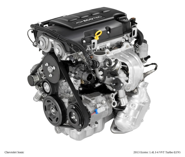 Chevrolet's 1.4 L Ecotec Turbo
