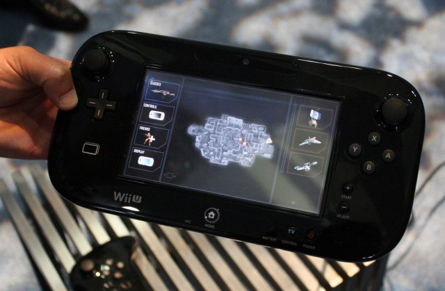 The display for single-player mode on the GamePad: fast access to menus, friends, and Killstreak bonuses.