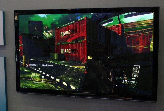 "The single-player screen in a CoD scenario that takes place in Singapore, named, appropriately, ""Cargo."""