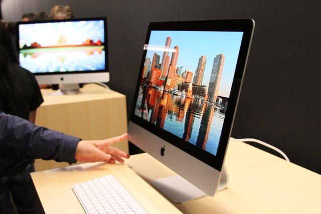"The 21.5"" iMac."