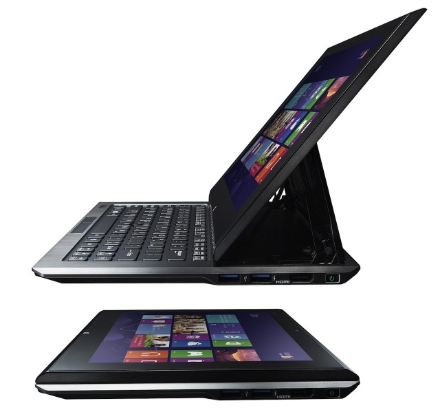 Sony's Vaio Duo 11 is a convertible laptop, though it's almost thin and light enough to be a suitable standalone tablet.