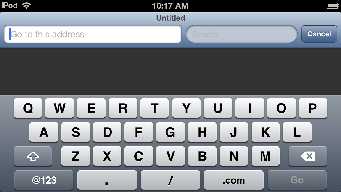 The new landscape keyboard doesn't use the extra space for more buttons—it just gets wider.