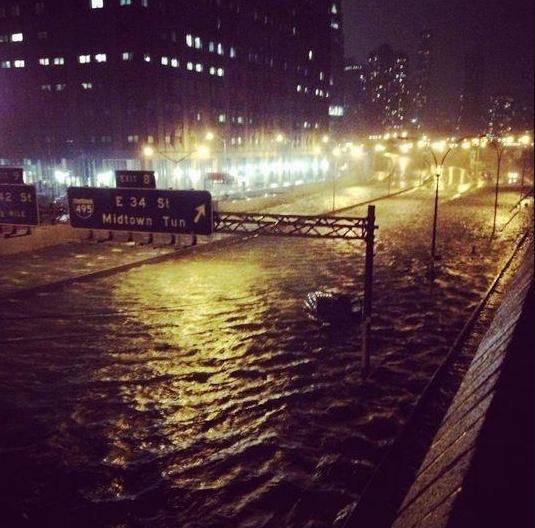 Hurricane Sandy Flooding Flooded by Hurricane Sandy
