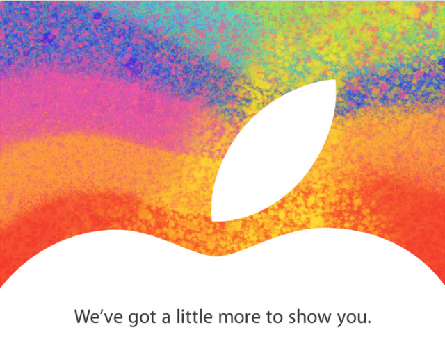 October 23 Apple event confirmed: 