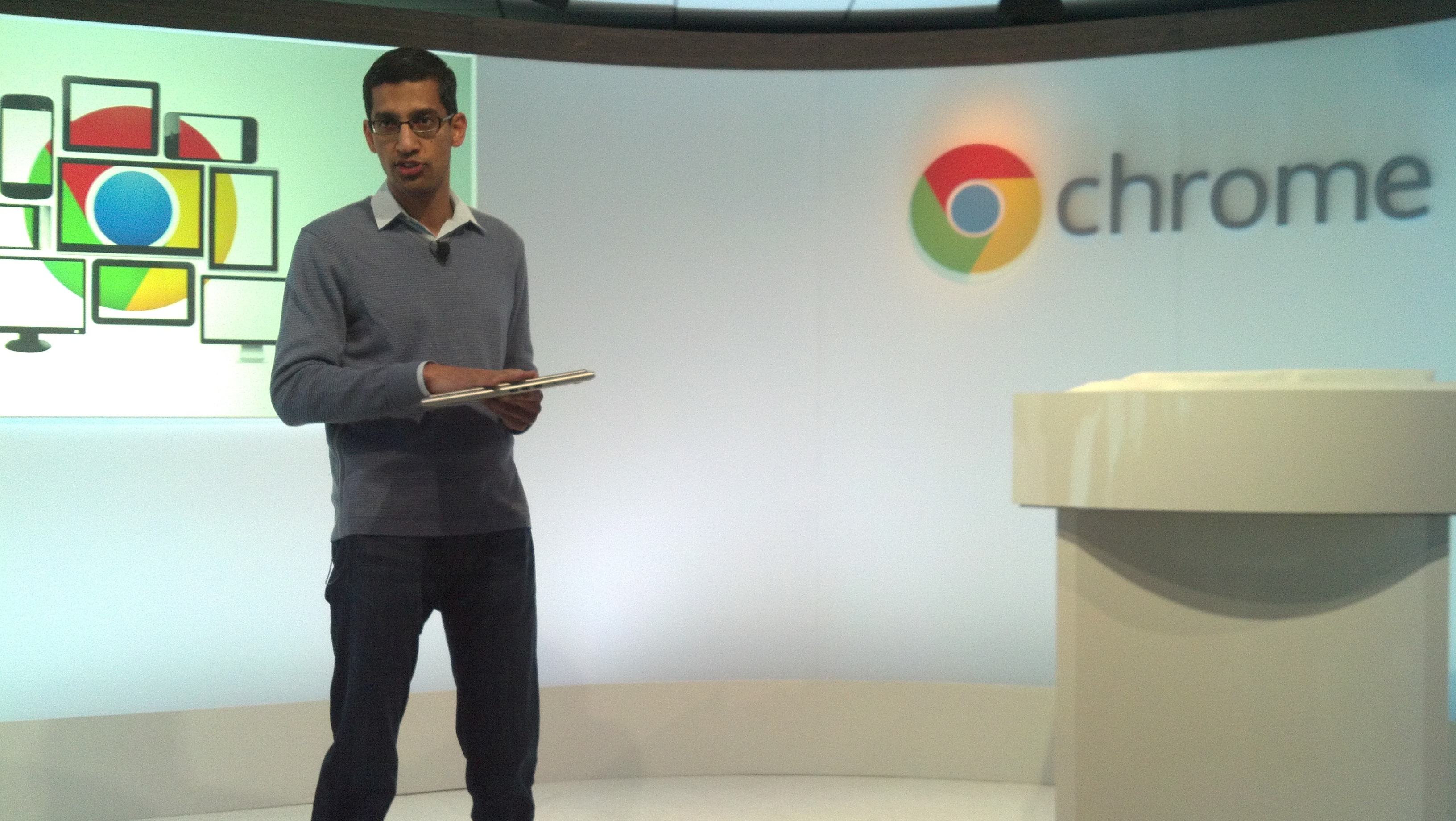 Google SVP of Chrome and Apps Sundar Pichai.