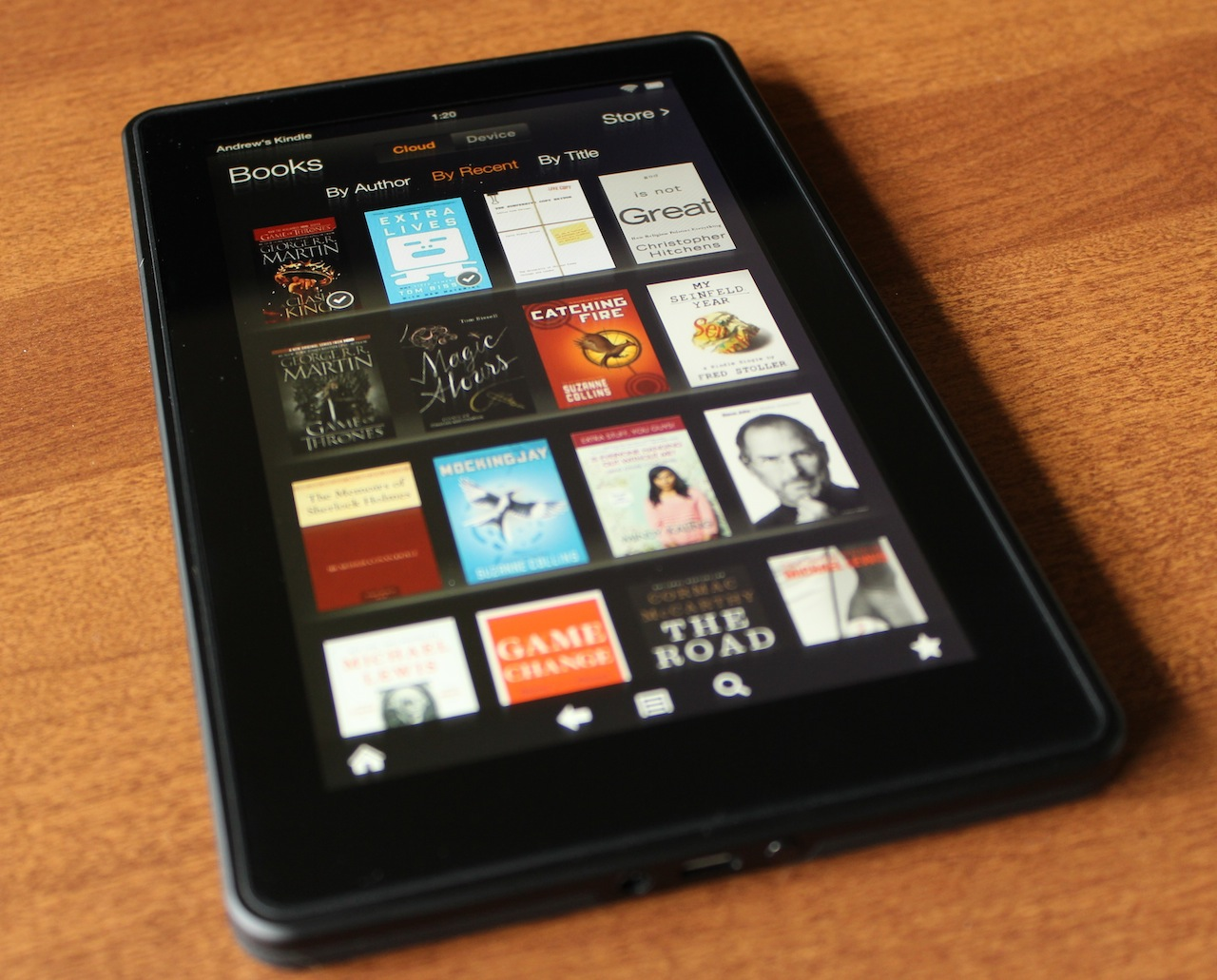 kindle books on android telephone