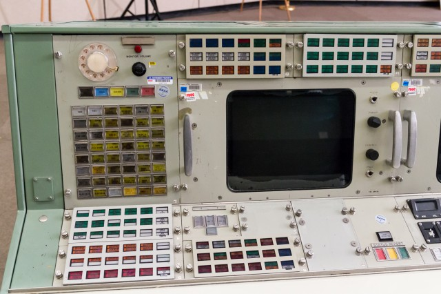 The left half of the BOOSTER console today.